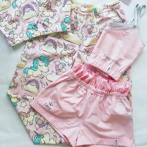"""""""Paradise"""" шорты светло-розовый однотон"""