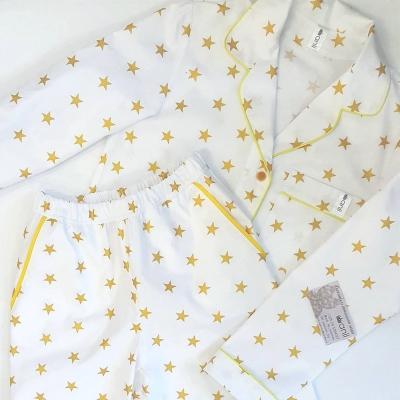 Пижамный жакет глиттерные звезды
