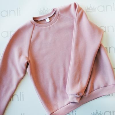 Мужской oversize свитшот розового цвета