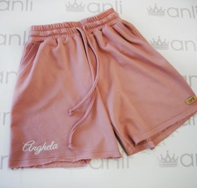"Шорты с карманами в стиле сафари ""Anghela"" цвета сухая роза"